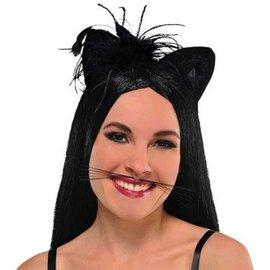 Whiskers Animal Black