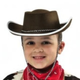 Brown Cowboy Hat ‑ Child