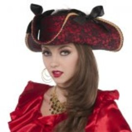 Lace Pirate Hat