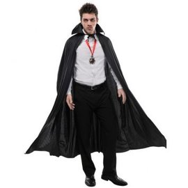 Cape Full Length Black - Adult