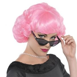 Pink Lady Wig