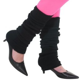 Black Leg Warmers - Adult