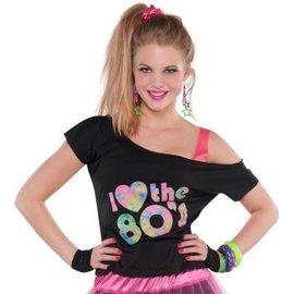 I Love The 80's T-Shirt - Adult Standard