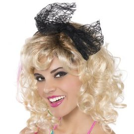 Lace Headband With Bow