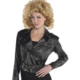 Cropped Leather Jacket - Adult Standard