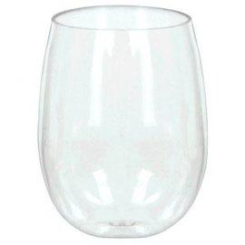 Stemless Wine Glasses, 8ct