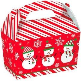 Large Snowman Cardboard Gable Boxes