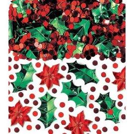 Christmas Botanical Metallic Foil Confetti Mix-2.5oz
