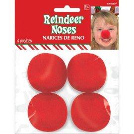 Foam Reindeer Noses