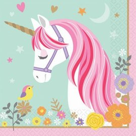 Magical Unicorn Lunch Napkins 16ct