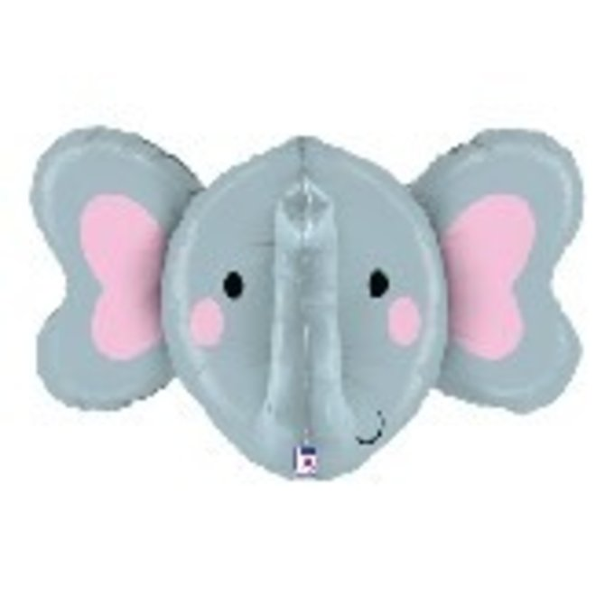 """Elephant Balloon, 34"""""""
