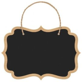 Chalkboard Hanging Sign, 8ct.
