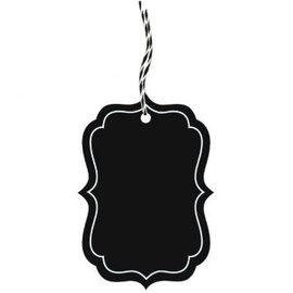 Chalkboard Tags, 25ct