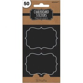 Chalkboard Stickers 50ct