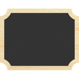 Chalkboard Wood Easel Signs 2ct