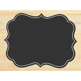 Large Chalkboard Wood Easel Sign