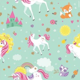 Magical Unicorn Printed Gift Wrap, 5'