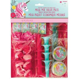 Magical Unicorn Mega Mix Value Pack Favor 48 piece