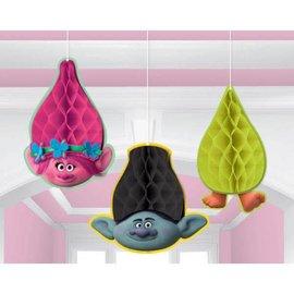 Trolls© Honeycomb Decorations