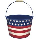 Americana Large Metal Bucket