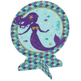 Mermaid Wishes 3-D Table Centerpiece