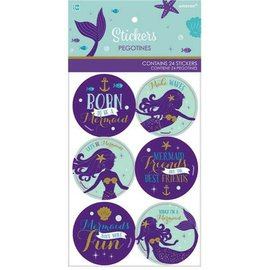 Mermaid Wishes Stickers