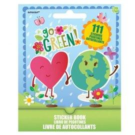 Go Green Sticker Book 9 Sheets