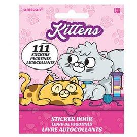 Kittens Sticker Book 9 Sheets