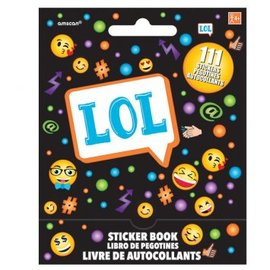 Smiley Sticker Book 9 Sheets
