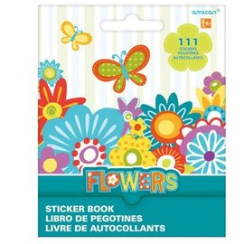 Flowers Sticker Book 9 Sheets