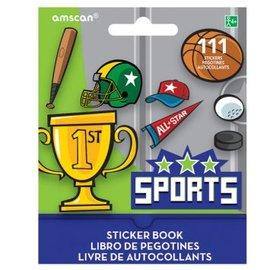 Sports Sticker Book 9 Sheets