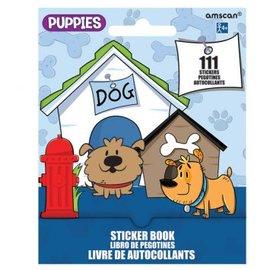 Puppies Sticker Book 9 Sheets