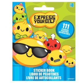 Express Yourself Sticker Book 9 Sheets