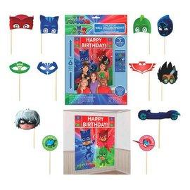 PJ Masks Scene Setters® Wall Decorating Kit w/Props