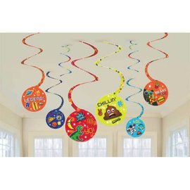 Epic Party Spiral Decorations