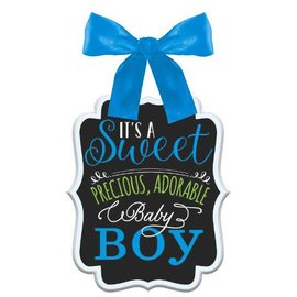 Baby Shower Sign - Boy