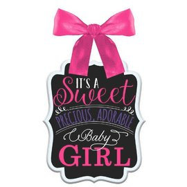 Baby Shower Sign - Girl