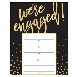 We' re Engaged Value Pack Invitations, 20 CT