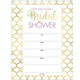 Bridal Shower Value Pack Invitations, 20CT