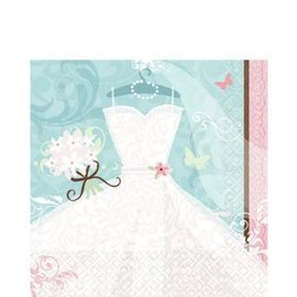Something Blue Engagement Lunch Napkins 36ct