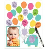 "Baby Shower Autograph Photo Mat 14"" x 11"""