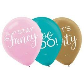Confetti Fun Balloons 15ct