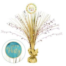 Confetti Fun Birthday Spray Centerpiece