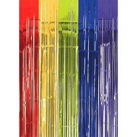 Multi Metallic Curtain- 3' x 8'