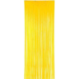 Yellow Door Curtain, 3'x8'