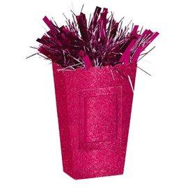 Small Popcorn Balloon Weight - Sparkle Pink