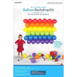 Primary Balloon Backdrop Kit