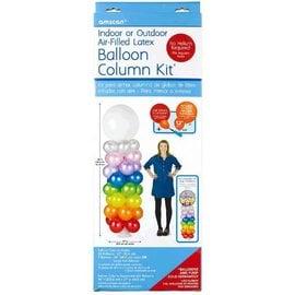 Air-Filled Latex Balloon Column Kit