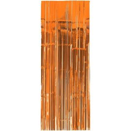 Orange Peel Metallic Curtain 3'x8'