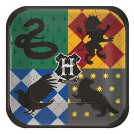 "Harry Potter™ Square Plates, 7"" , 8ct"